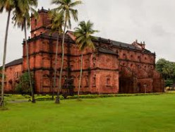 ST FRANCIS XAVIER  AND HIS  460 YEARS OLD MORTAL REMAINS AT OLD GOA, INDIA