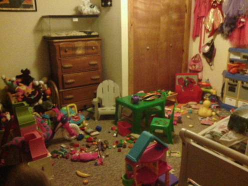 The kids rooms will look like this...