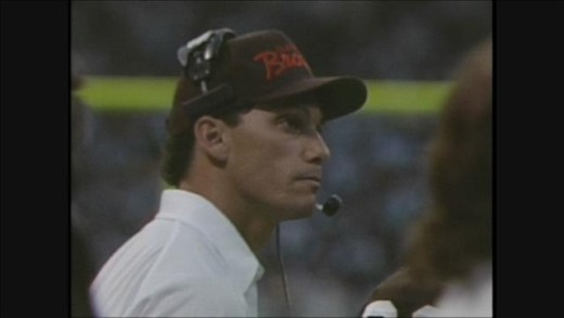 Marc Trestman with Cleveland Browns