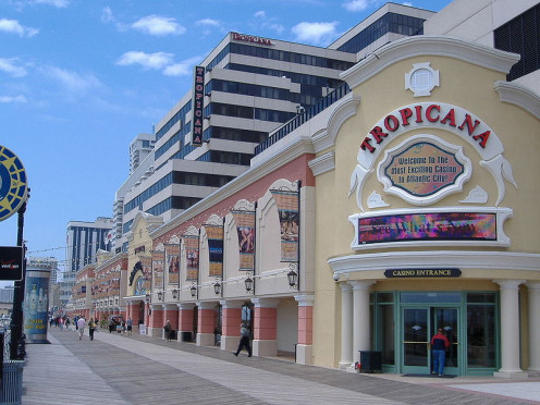 Boardwalk in Atlantic City