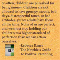 Why do parents expect children to act like adults?