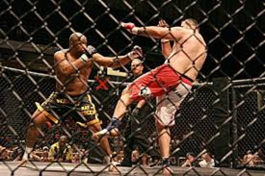 Merciless Ray Mercer knocked out Tim Sylvia in ten seconds. Mercer threw and landed a hard right hand that knocked Silvia out cold.