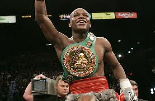 Floyd Mayweather, Jr. Is a five division world champion in boxing. Mayweather also won a Bronze medal in 1996 Olympic games in Atlanta, Georgia.