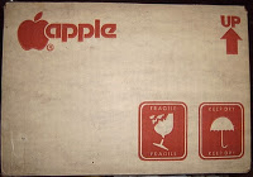 Shipping Carton for Apple II