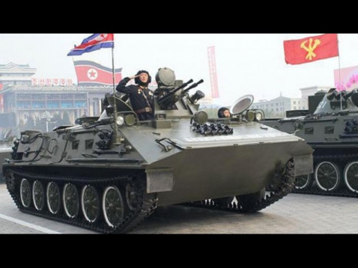 North Korea's VTT-323