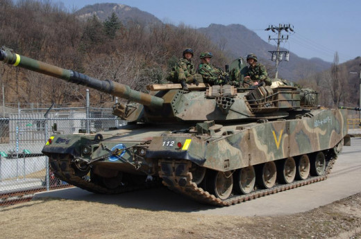 South Korea's K1 88-Tank