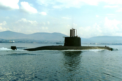 South Korea's Type 209 Submarine