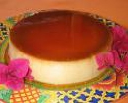 This looks like the flan I make...I am drooling as I write!