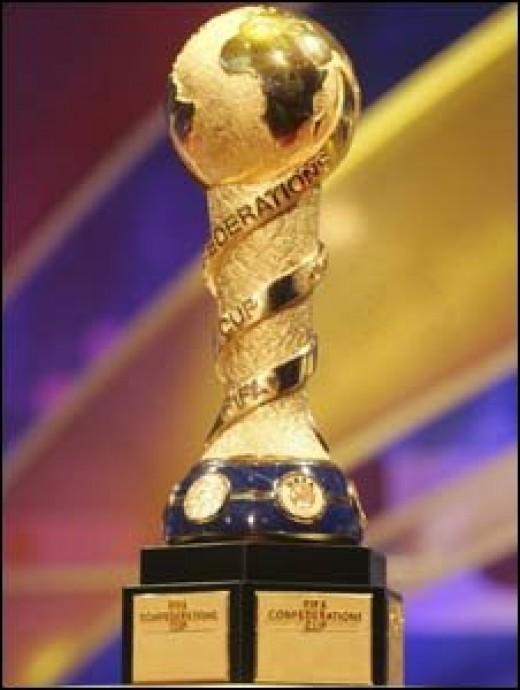 The Confederations Cup Trophy