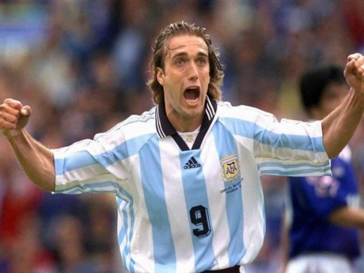 Gabriel Batistuta was one of the greatest players to ever play the game of football