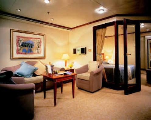 A Silversea suite (about.com)
