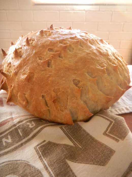 Have fun shaping your fresh home made bread