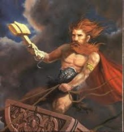 Thor the Nordic Mytologys God of Thunder