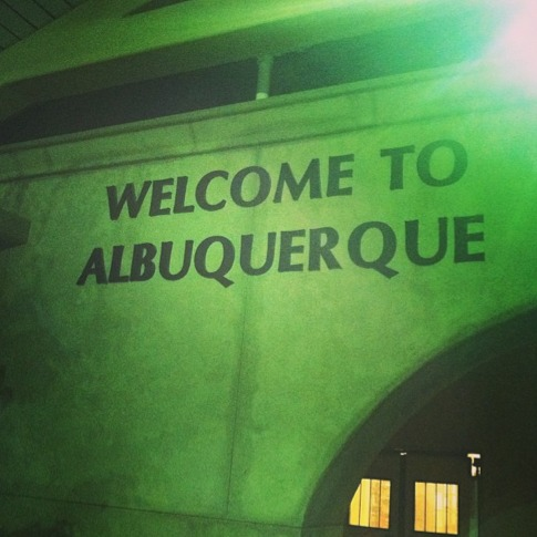 Albuquerque was the best stop on this cross country trip.