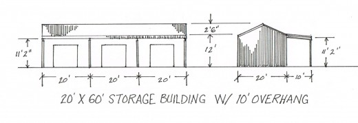 Make a sketch of the building you want. It helps when speaking with an engineer or drafter.