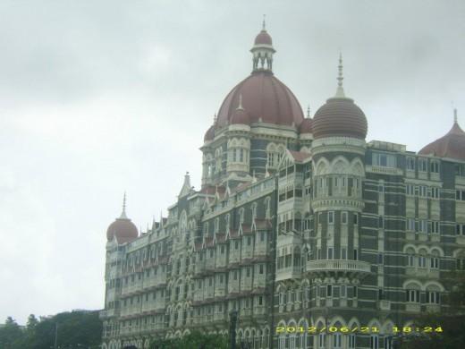 Taj Mahal Palace (Taj Hotel), Mumbai, India.