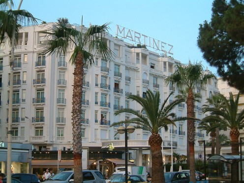 Hotel Martinez, Cannes, Riviera, France