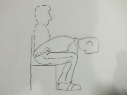Exercise in Siting position