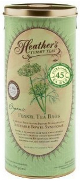 Heather's Tummy Tea Fennel Tea Bags for Irritable Bowel Syndrome