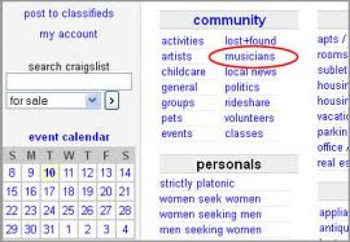 Make sure and utilize every tool available to you on Craigslist in order to maximize your exposure.