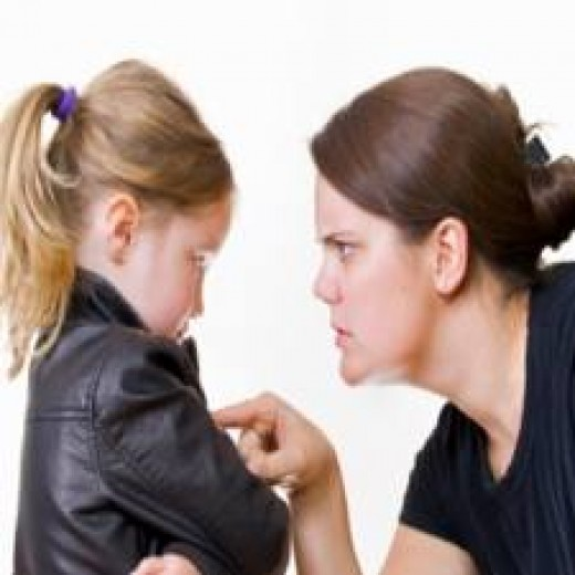 """There are parents, particularly those who are critical & perfectionistic, who routinely use harsh words when they are """"correcting"""" their children.They unknowingly are doing irreparable damage to their children's self-esteem."""