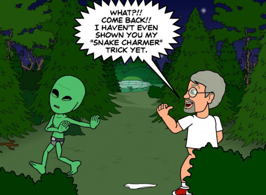 Alien abduction, though never experienced can be terrifying.