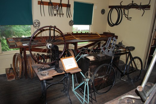 The Wright Brother's Cycle Shop.