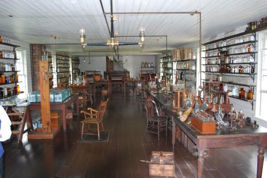 Thomas Edison's Menlo Park Lab