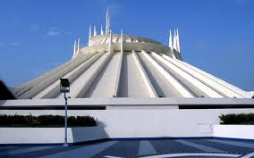 Space Mountain is located inside Disneyland in California and it is one of the most popular rides at the park.
