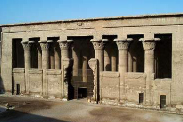 The temple Khnum at Esna