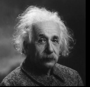 "Einstein derived the famous equation   E=mc2,  ""theory of relativity""."
