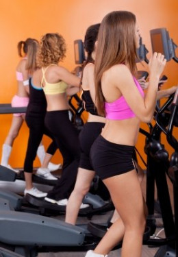 There are many potential time wasters when you exercise at the gym including driving time or waiting for certain machines to get free.