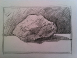 How to Draw a Rock's Surface