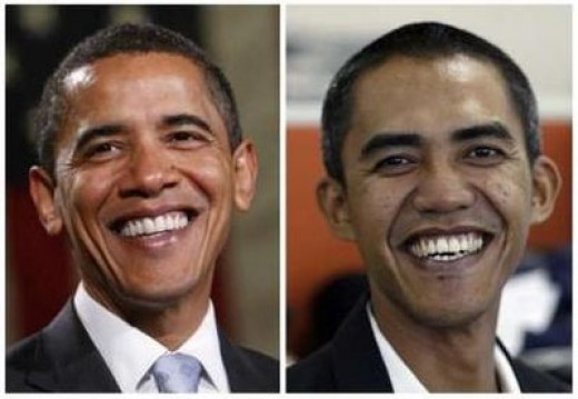 The Obama Look A Like, Ilham Anas