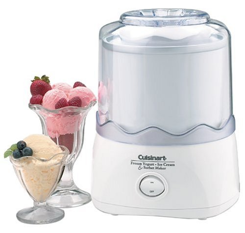 Cuisinart ICE-20 Automatic 1-1/2-Quart Ice Cream Maker