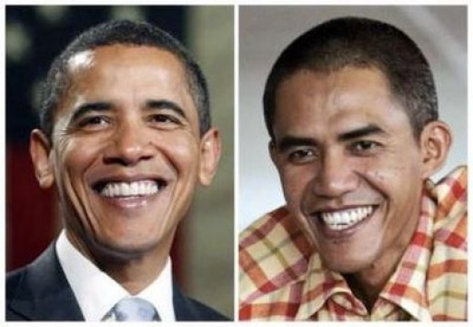 Obama And Ilham Anas