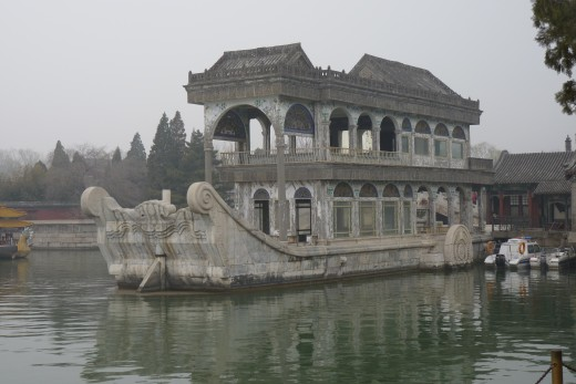 6 c) The Marble Boat at The Summer Palace
