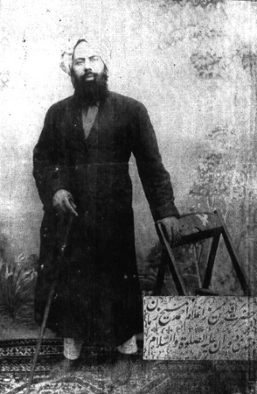 Mirza Ghulam Ahmad (pbuh) claimed that it is he who is Promised Messiah and Mahdi of the latter-days as prophecized in the Abrahamic and other religions.