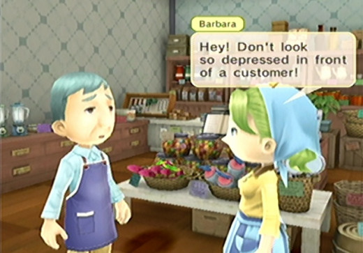 You'll find Barbara here is a much more positive thinker than her husband, Simon. Yep, that guy. Best you worry about what's at hand right now. you can't meet Pheobe until after ringing the red bell.
