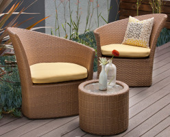 Purchasing Great Wicker Lounge Furniture For Decks And Patios Provides Super Advantages