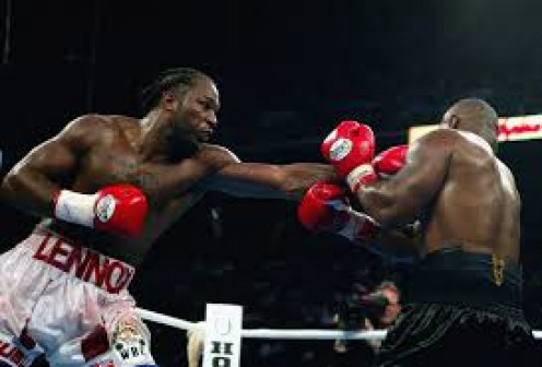 Lennox Lewis controlled Mike Tyson with his masterful jab.  You should not paw with the jab but rather snap it out. Also, mix it up so the opponent can not time your jab.