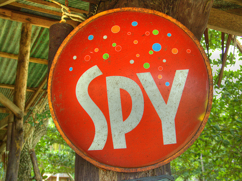 (Cake) spy by twicepix on Flickr