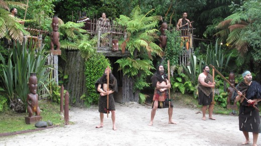 ceremonial welcome rotorua new zealand