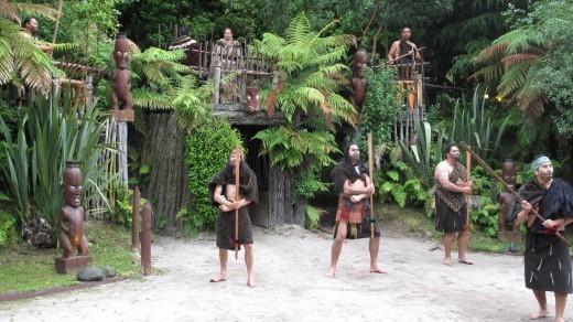 ceremonial welcome rotorua new zealand