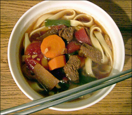 Beef Noodle Dish