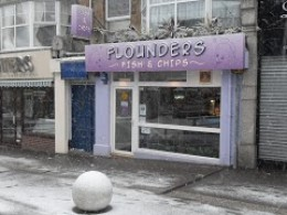Fish & Chip Shops in Newquay: Flounders