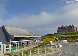 Fish & Chip Shops in Newquay: Fistral Beach Chippy
