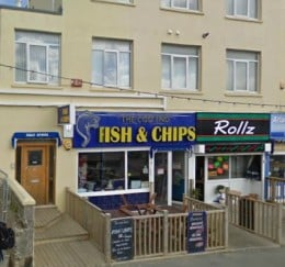 Fish & Chip Shops in Newquay: Cod End, near Newquay Station