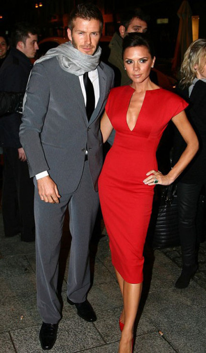 Victoria Beckham & David Beckham. Happy Together 14 years