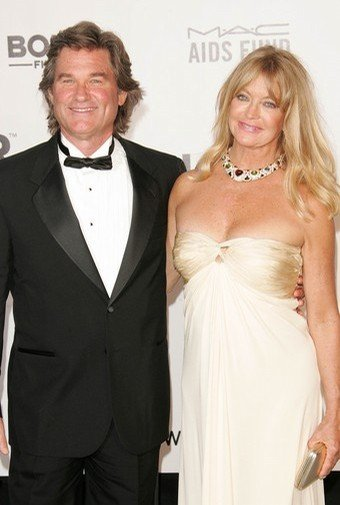 Goldie Hawn & Kurt Russell. Happy Together 30 years